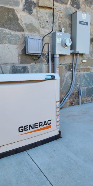 home generator with automatic transfer switch